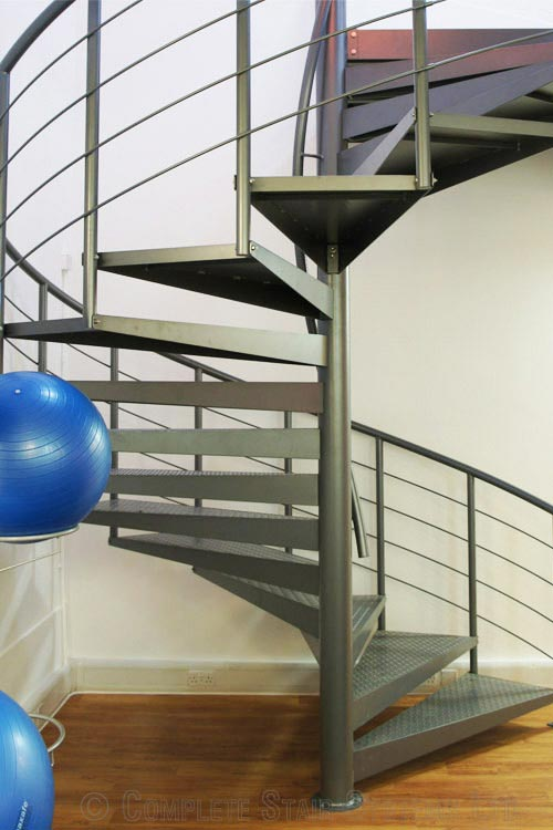 Steel Spiral Staircase Berkshire  Spiral Staircases