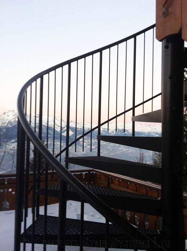 Steel Spiral Staircase Switzerland
