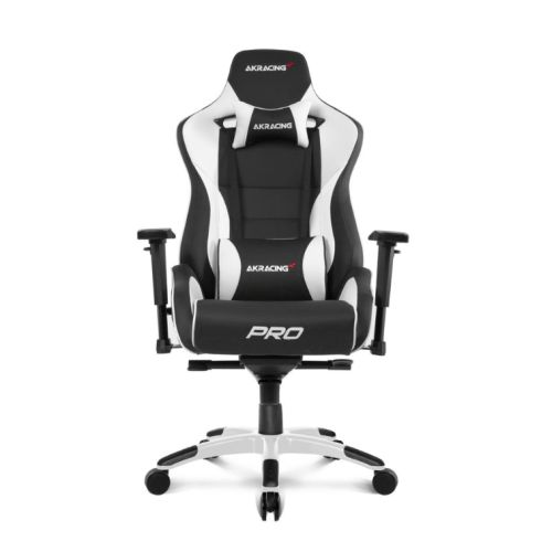 pro gaming chairs uk folding chair big lots ak rd akracing masters series black white 5 10 year warranty