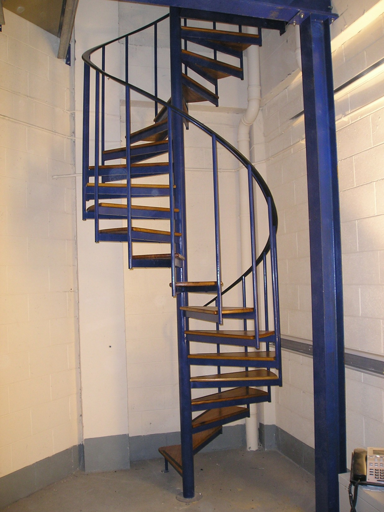Fire Escapes  Industrial  Spireco Spiral Stairs