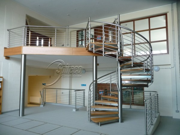 Commercial Spiral Stairs