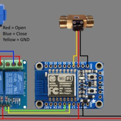 Usb 3 0 Cable Wiring Diagram 2 Liftmaster Garage Door Opener Building A Shower Timer With An Esp8266 | Blog Spiria