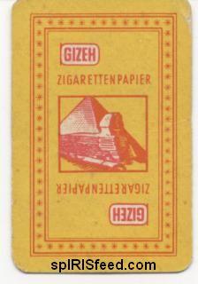 Gizeh Deckkarte