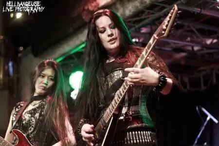 Frantic Amber @ Rock Bitch Boat Sweden : Galeries photos - Spirit of Metal Webzine