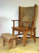 One of Fraser's traditional chairs