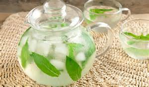 mint ice tea