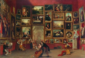 Gallery of the Louvre