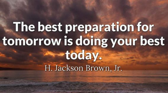 do your best good morning