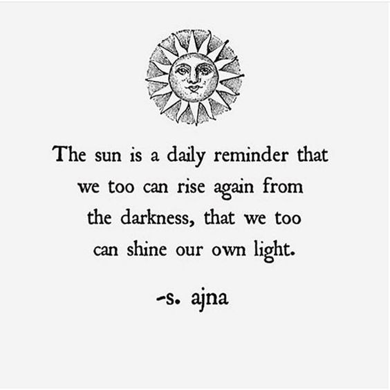 rise from darkness good morning