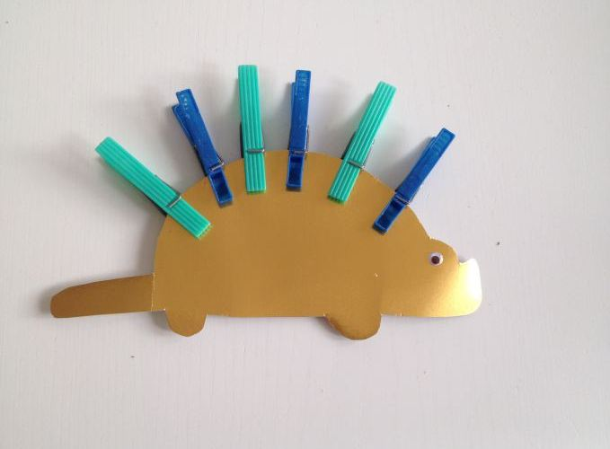 Montessori At Home – Peg Dinosaur