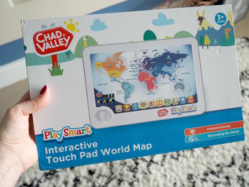 Chad valley playsmart interactive touch pad world map win a 75 however its nice sometimes to come across something a bit different for them to enjoy and with two children who are big on learning about the world gumiabroncs
