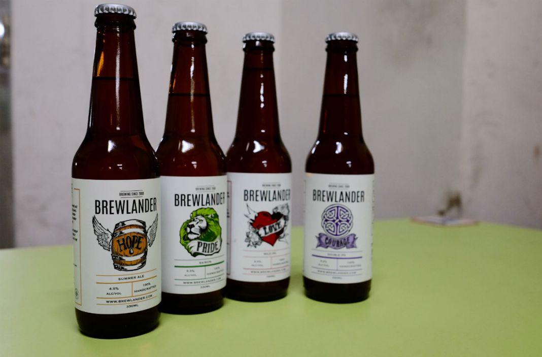 Brewlander & Co beers