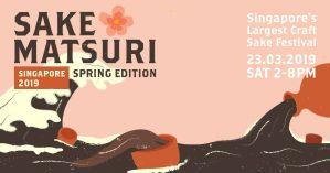 Sake Matsuri Singapore 2019 Spring Edition