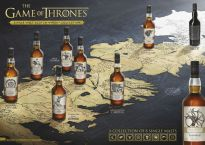 Game of Thrones Single Malt Scotch Whisky Collection Map