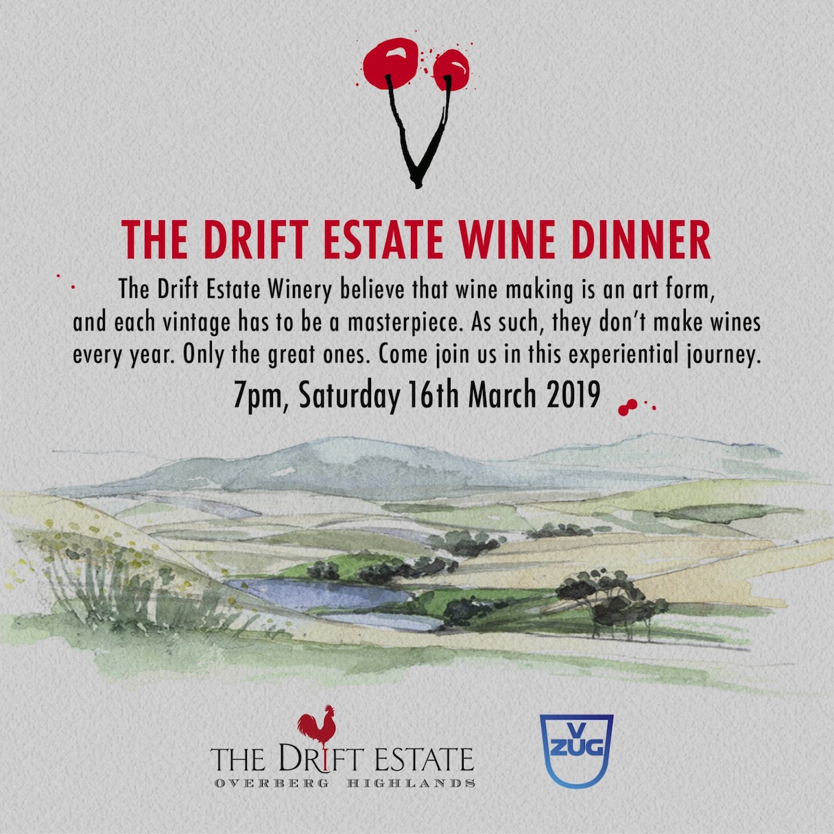 The Drift wine dinner