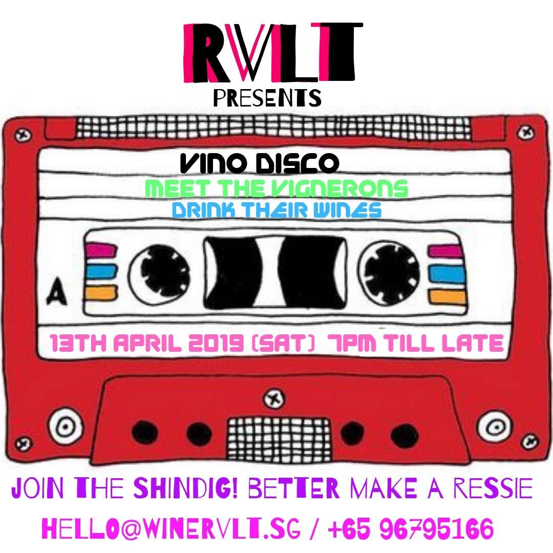 RVLT Vino Disco