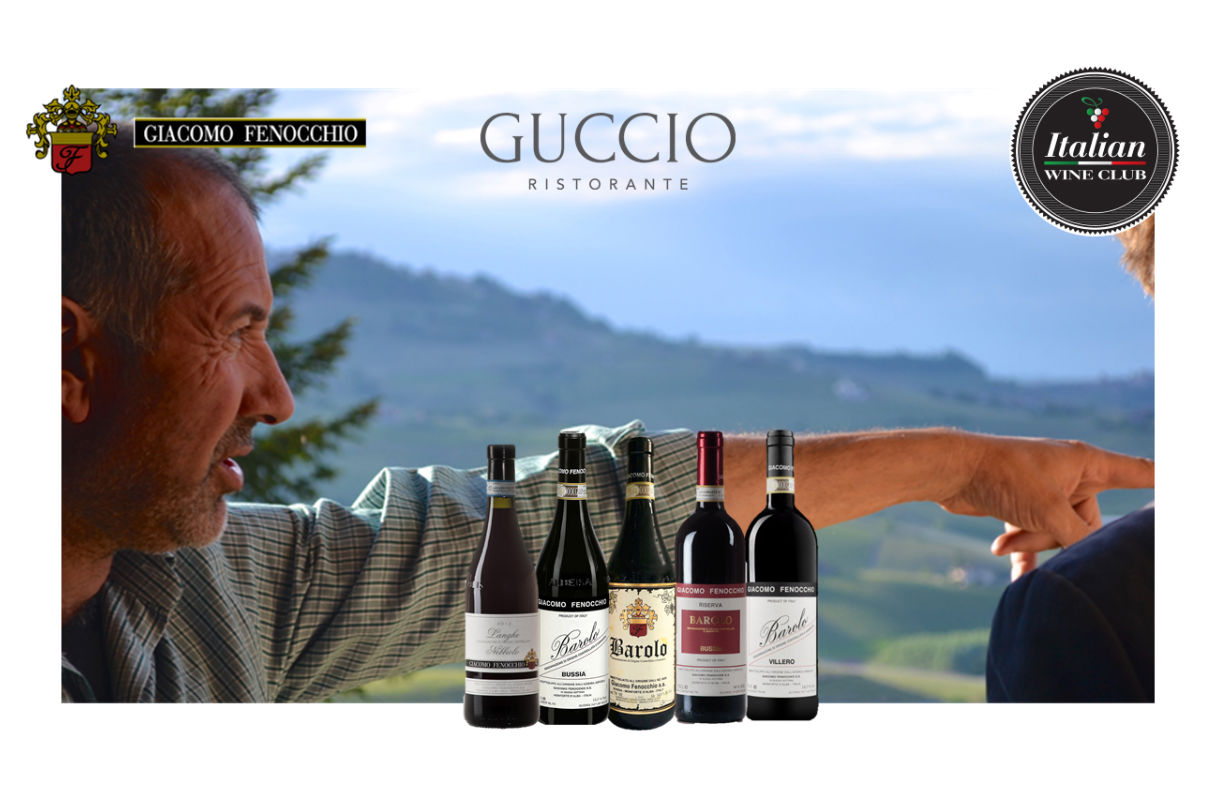 Giacomo Fennochio Barolo dinner