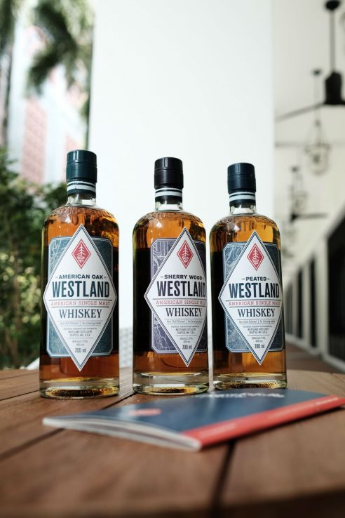 Westland whiskeys