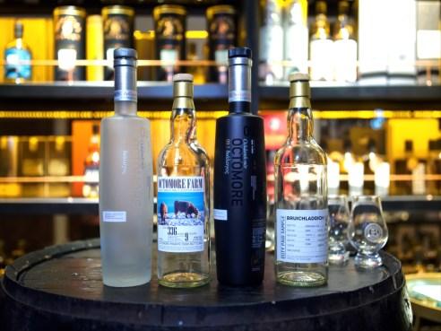 Bruichladdich official bottlings vs independent bottlings