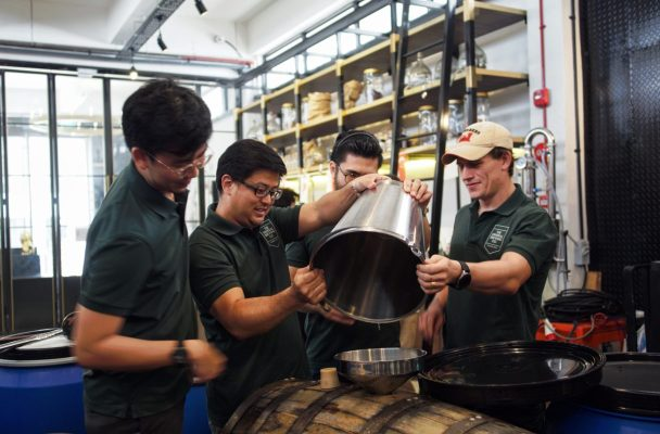 making Singapore's first whisky