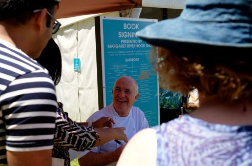 Gourmet Escape Rick Stein book signing