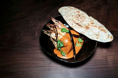 the elephant room singapore tamarind curry prawns