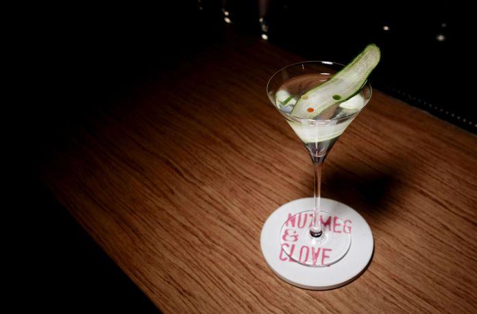 Nutmeg & Clove Maxwell Martini