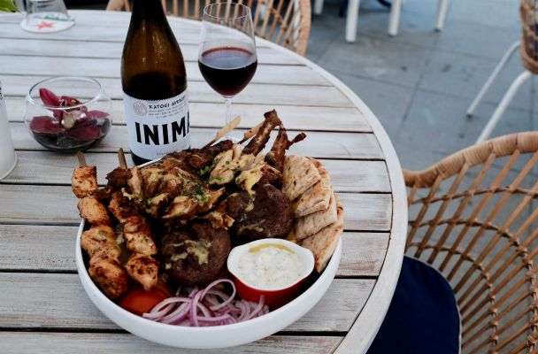 zorba the greek mixed grill platter