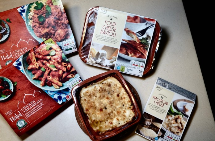 DIY meals - marks & spencer
