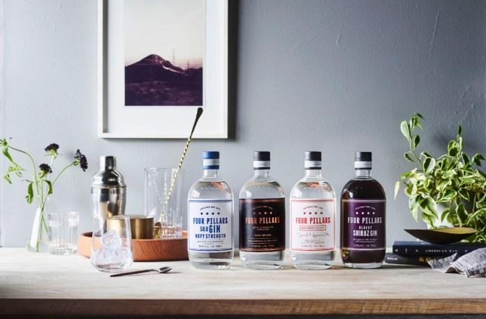 Four Pillars Gin range