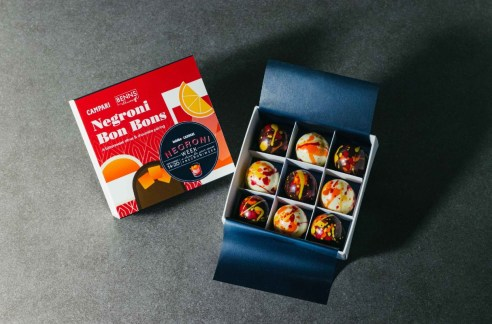 Negroni Week 2020 Campari x Benns Ethicoa chocolate bon bon set