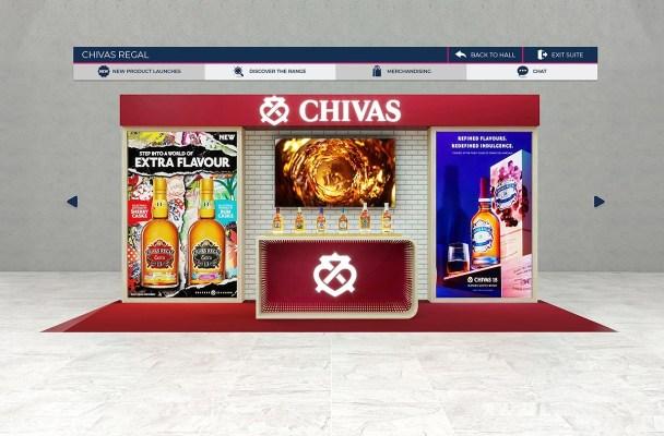 Chivas stand