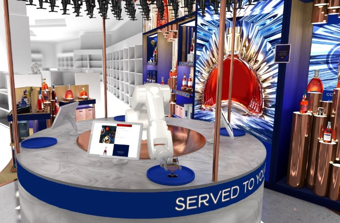 Pernod Ricard Conceptual Space for Martell