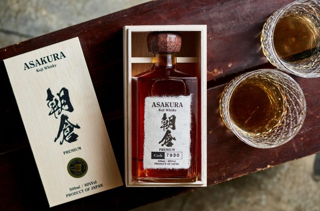 Asakura Premium koji whisky