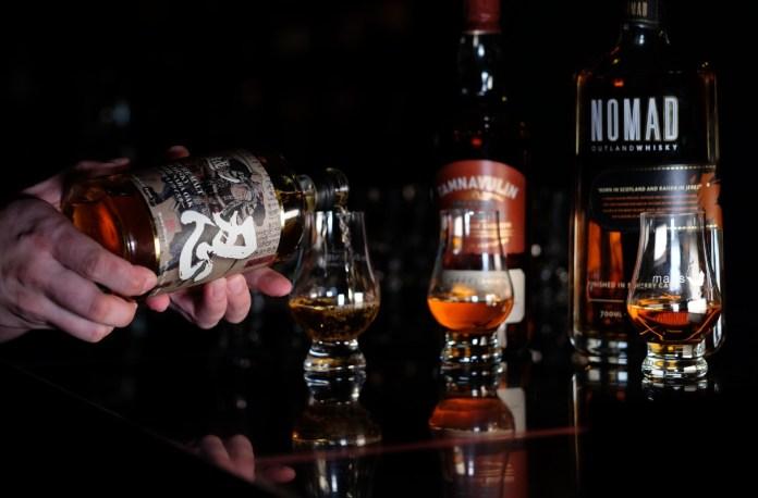 malts whisky bar range