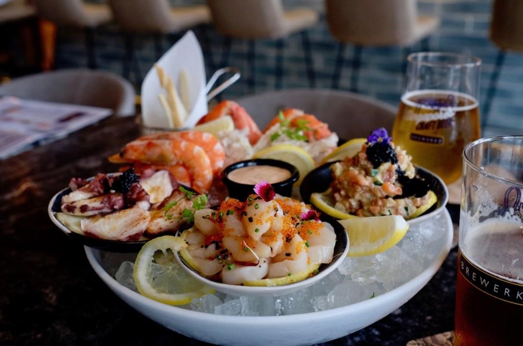 Brewerkz One Fullerton Seafood Platter