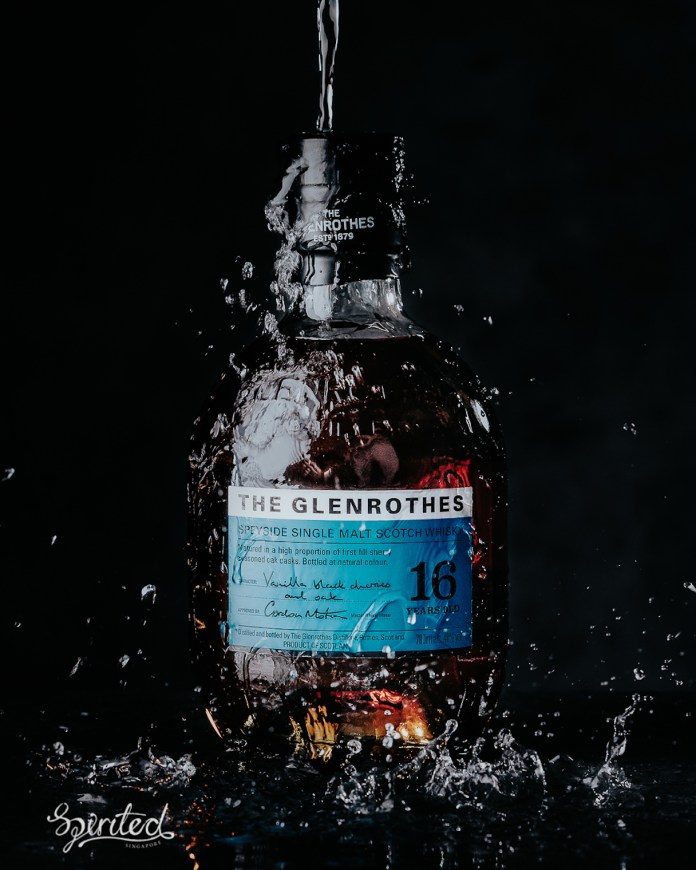 Glenrothes The Aqua Collection 16 Years Old portrait