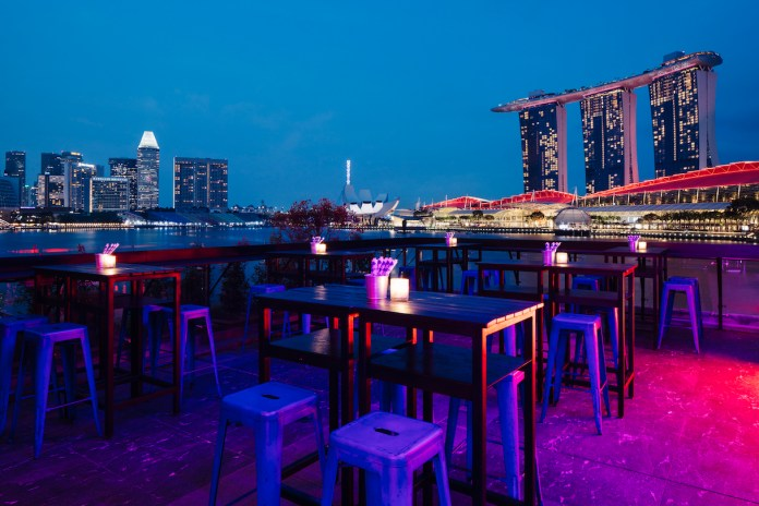 Kinki Restaurant + Bar rooftop