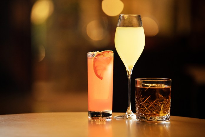 Sam Wong's exclusive concoctions for the Club 5's Guest Bartenders Shift