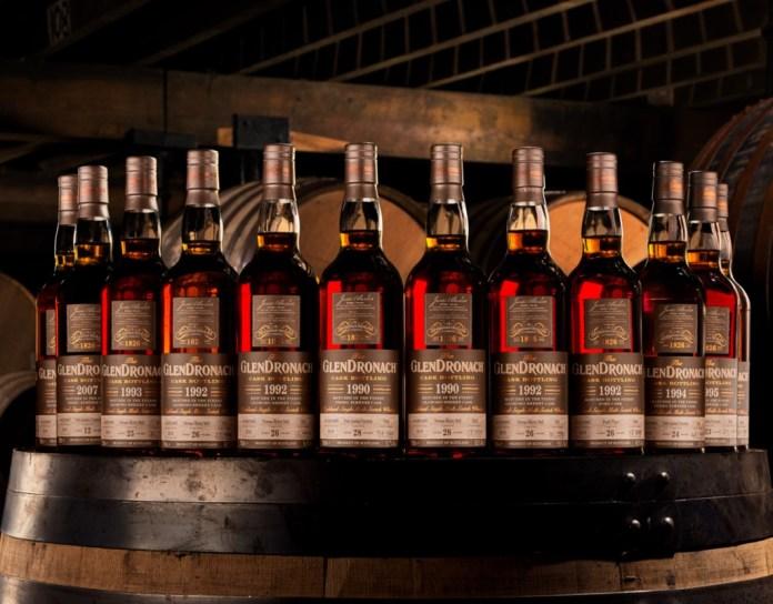 GlenDronach single cask range