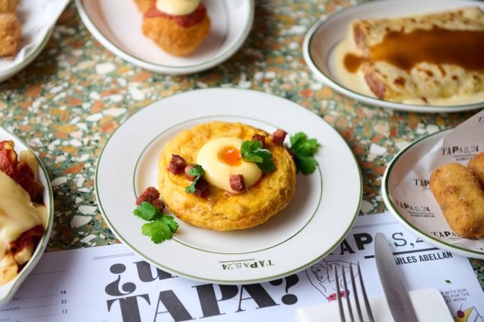 Tapas,24 Singapore Spanish Tortilla Mallorcan Style