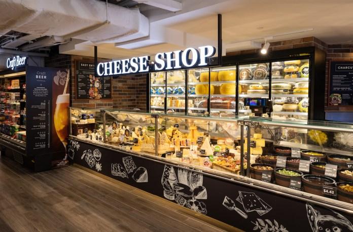CS Fresh Gold cheese shop