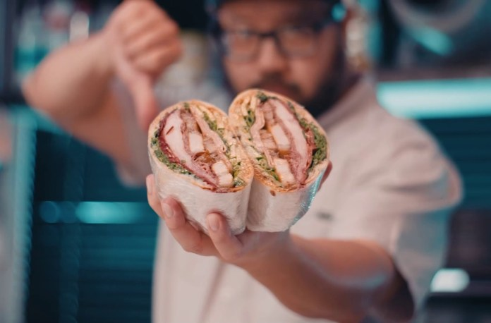 Bjorn Shen Smalls banhmi sandwich