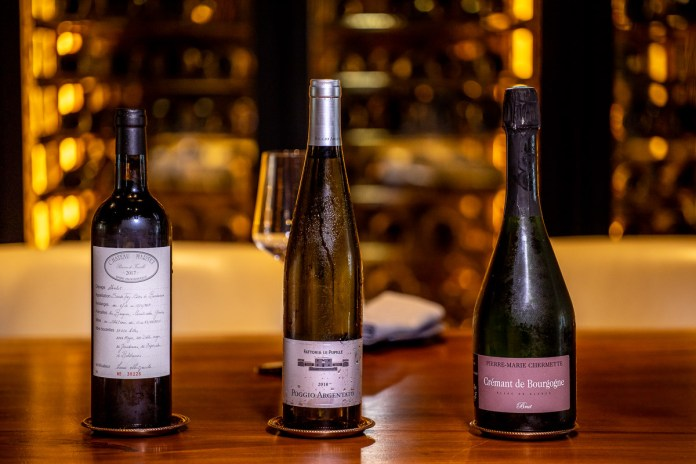 Butcher's Block weekend brunch wines