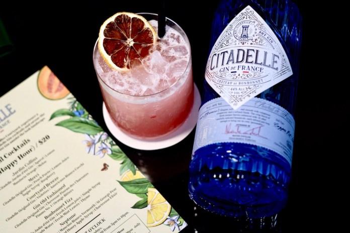 Raffles Courtyard x Citadelle Gin Merci