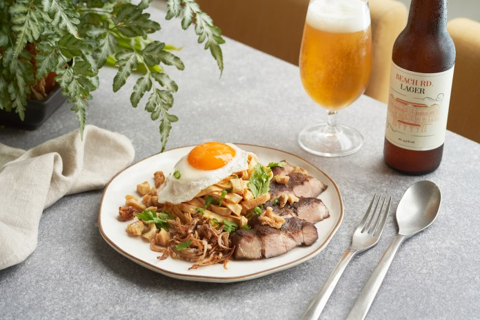 SG Lard (Lao) Ban Mee Sambal Noodles