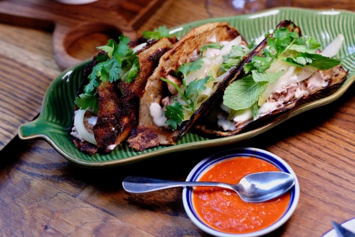 The Butcher's Wife Marinated Chicken Thigh Dosa