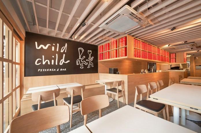 Wild Child Pizzette - interior