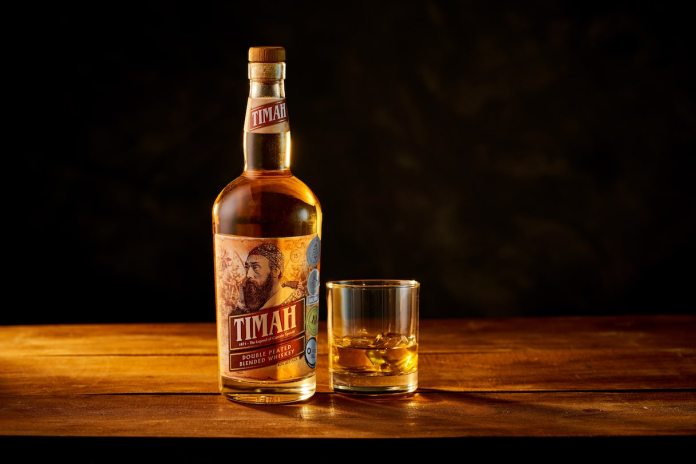 Timah Doubled Peated Blended Whiskey lifestyle