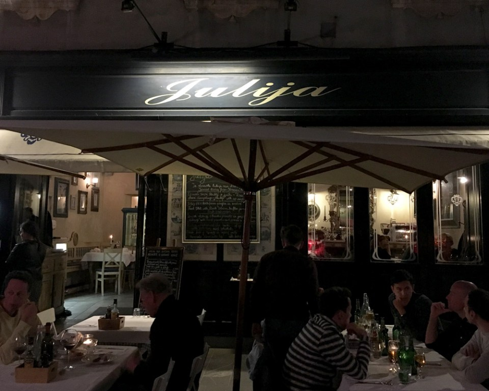 Das beste Restaurant in Ljubljana - für Hund und Mensch